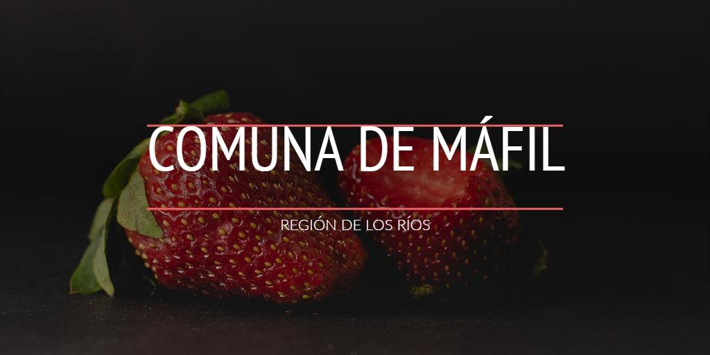 COMUNA DE MÁFIL