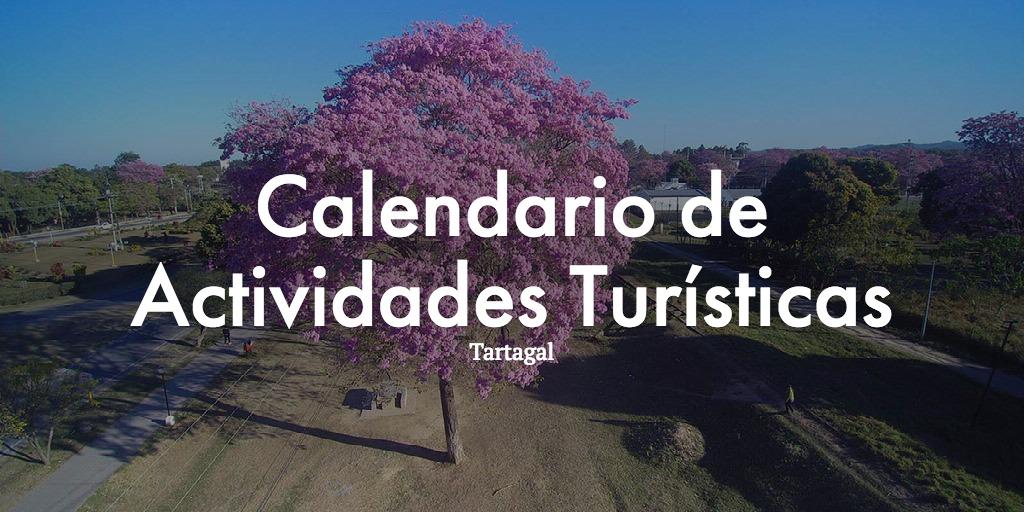 Calendario Anual de Actividades Turístas