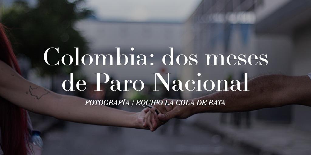 Colombia: dos meses de Paro Nacional