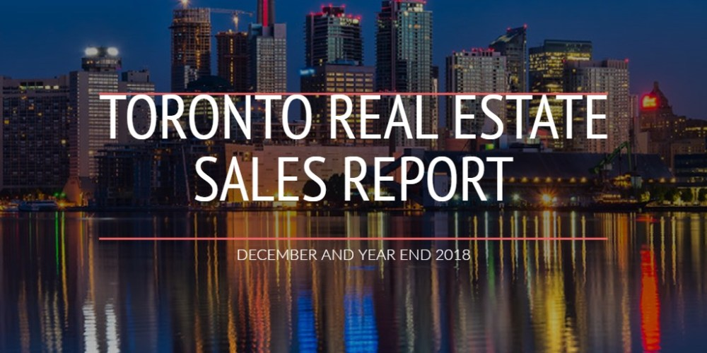 TORONTO REAL ESTATE SALES REPORT