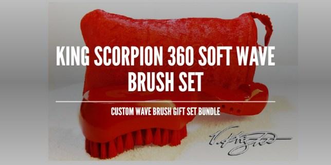 King Scorpion 360 Soft Wave Brush
