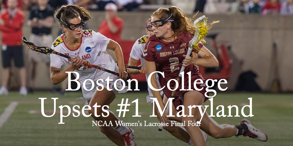 Boston College Upsets #1 Maryland