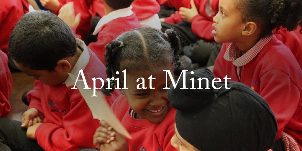April at Minet