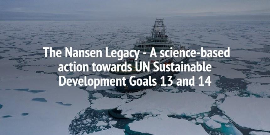 Nansen Legacy UN-SDG