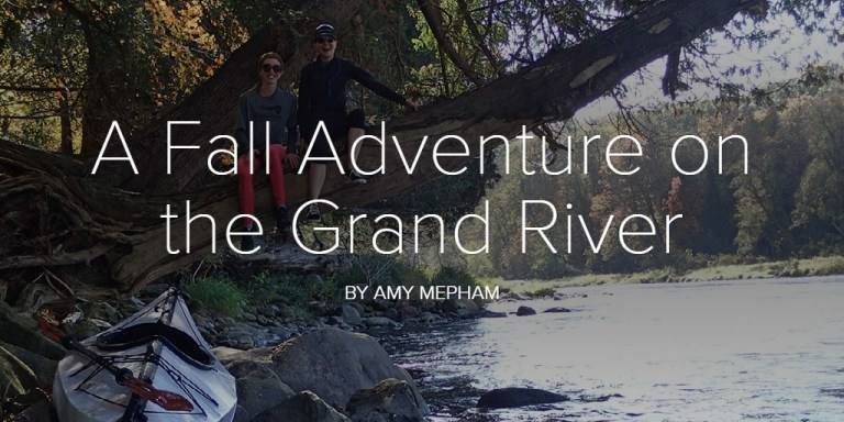 A Fall Adventure on the Grand River