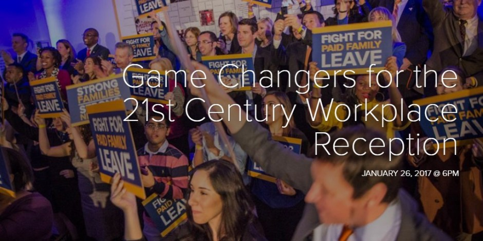 Game Changers for the 21st Century Workplace Reception