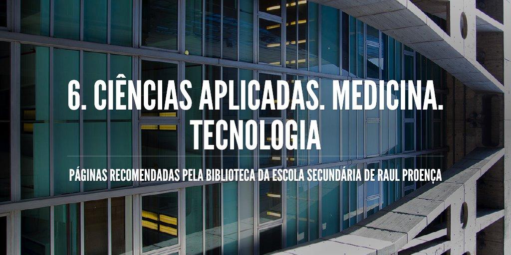 6. Ciências Aplicadas. Medicina. Tecnologia