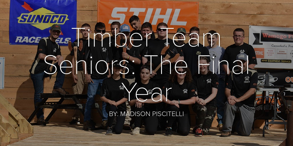 Timber Team Seniors: The Final Year