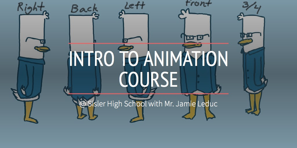 INTRO TO ANIMATION COURSE
