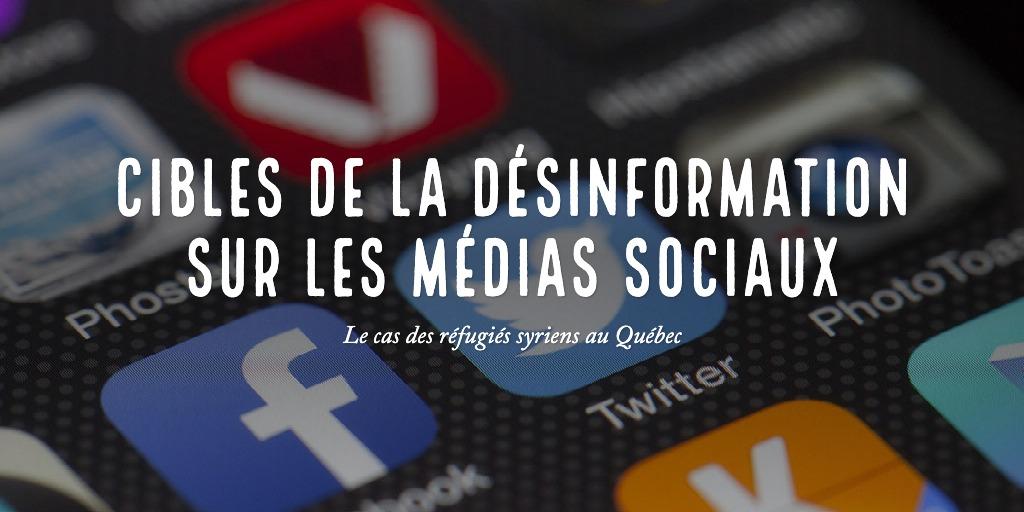 Désinformation et enjeux politiques québécois