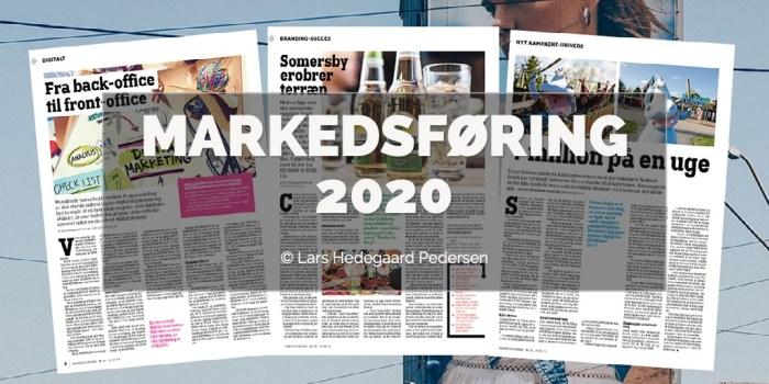 Lars Hedegaard Pedersen - Markedsføring 2020