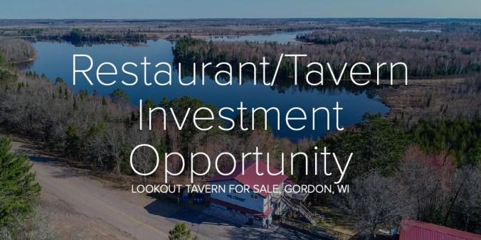 Restaurant/Tavern Investment Opportunity
