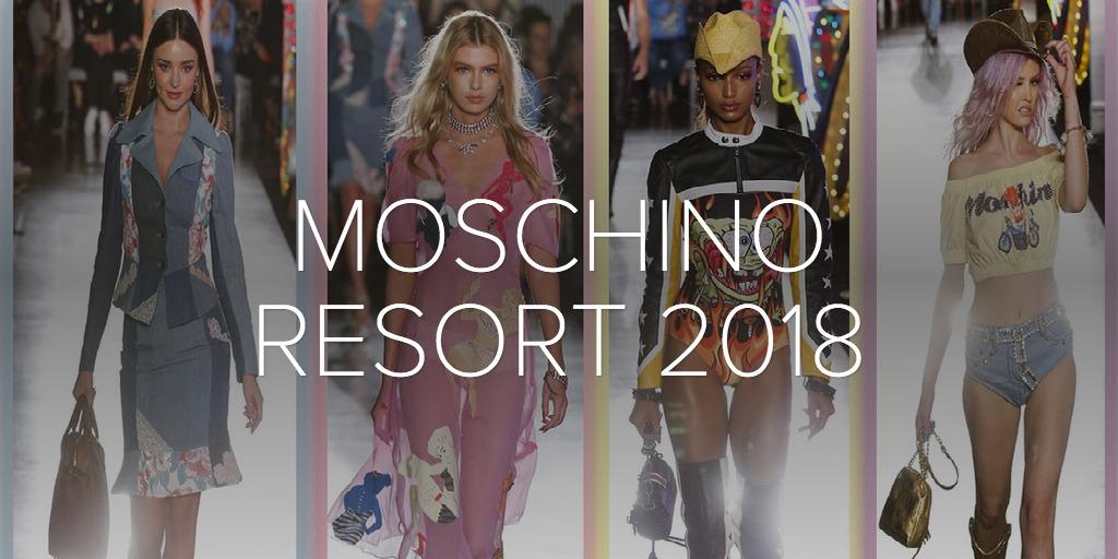 Moschino 2018 resort fashion show