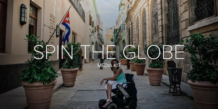 SPIN THE GLOBE | Blog Media Kit
