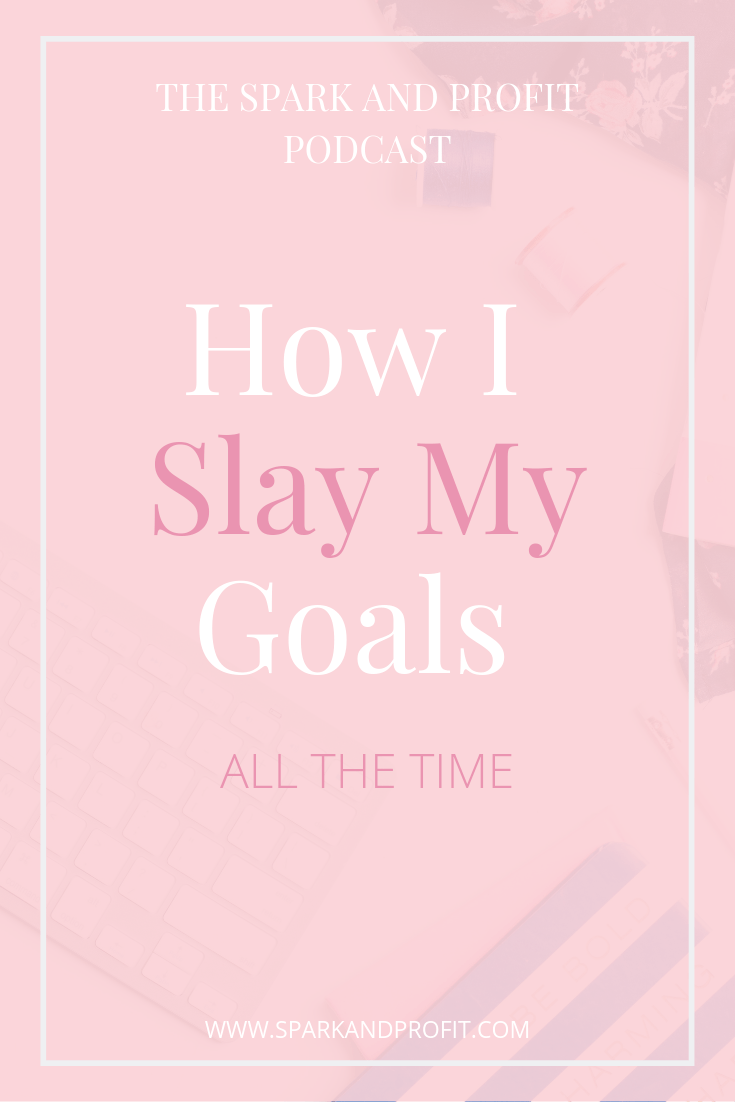 Goals are such an important part your success plan. Find out how slay my goals all the time with this eight step plan.