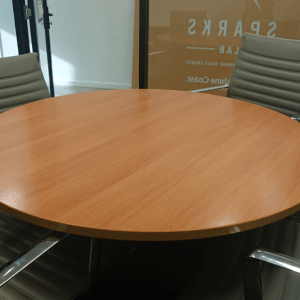 Studio meeting room setup
