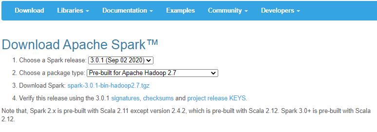 Spark installation ubuntu