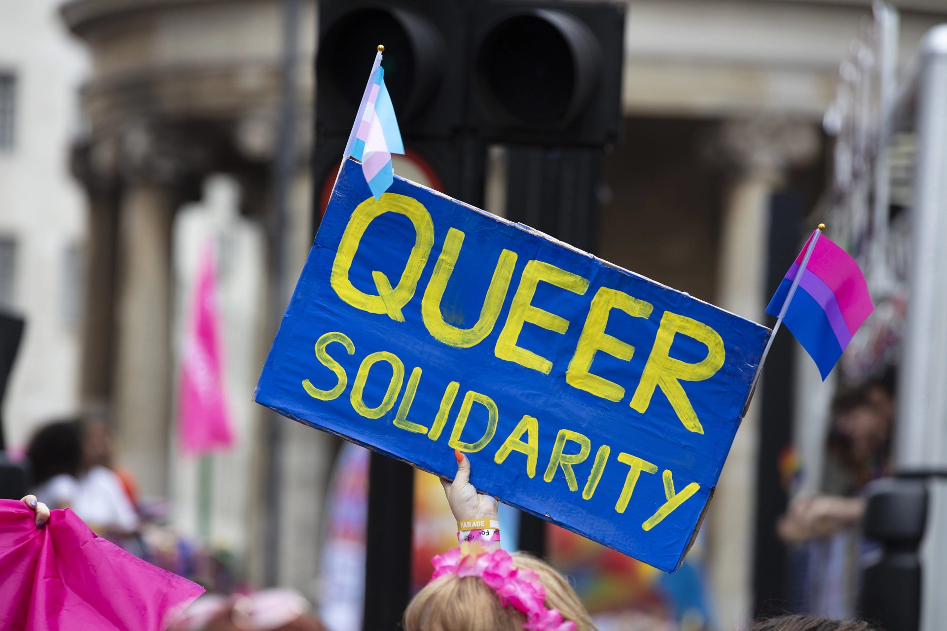 Supporting Queer Solidarity at a Pride Event