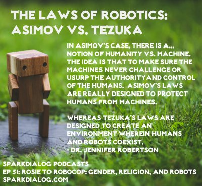 Asimov vs Tesuka