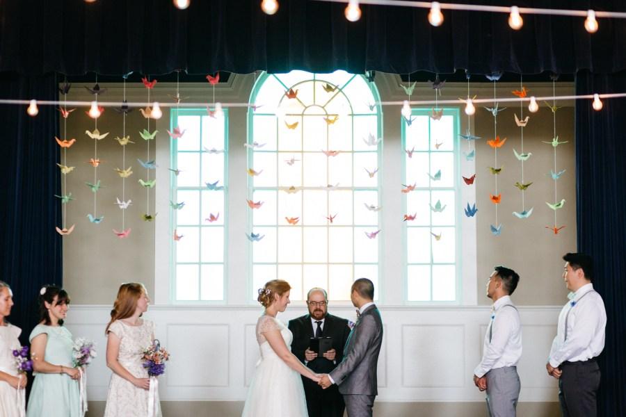 wedding photos great hall at green lake