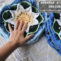 Lotus Moon Afghan update