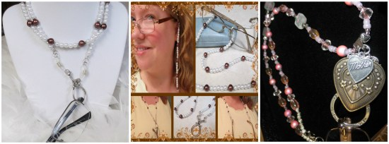 eyeglass holder collage