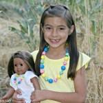 American Girl Doll Gal Brown Hair
