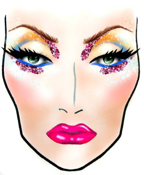 MAC Halloween Makeup