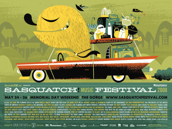 Sasquatch 2008