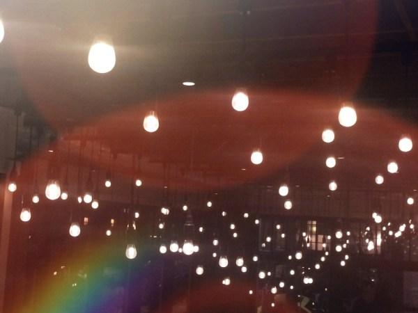 rainbow filter photography