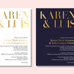 graphics // wedding invites