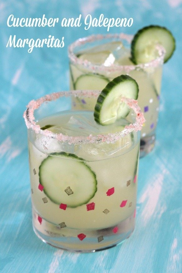 Cucumber Jalapeno Margaritas