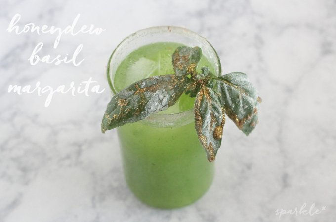 Honeydew Basil Margarita