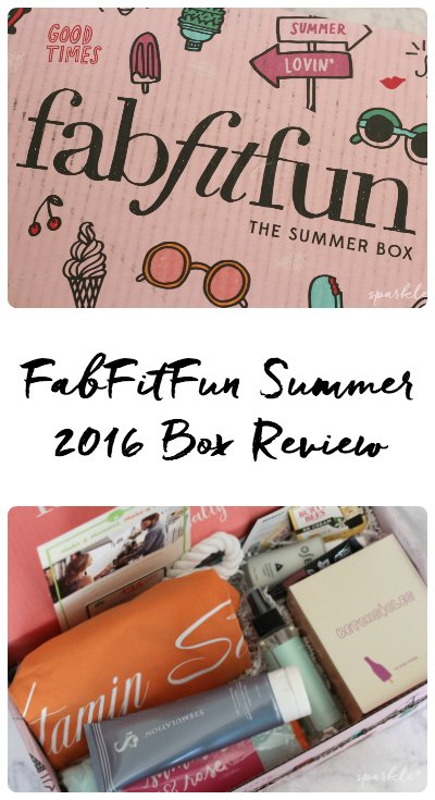 The FabFitFun subscription box is one of my favorite subscription boxes around and the Summer 2016 box does not disappoint!