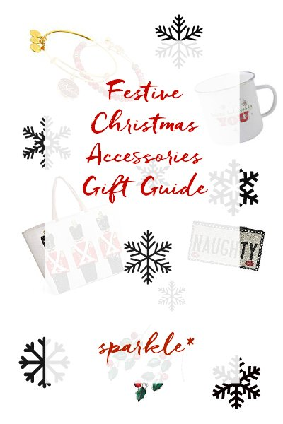 It's time to add a little Christmas to your day! These accessories will make you feel festive all season long, without looking like an overdecorated Christmas tree!