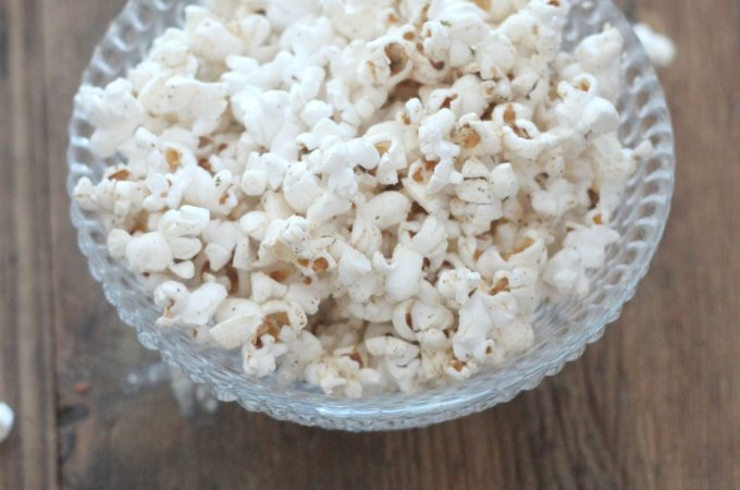 Make it Spicy – Spicy Ranch Popcorn Recipe