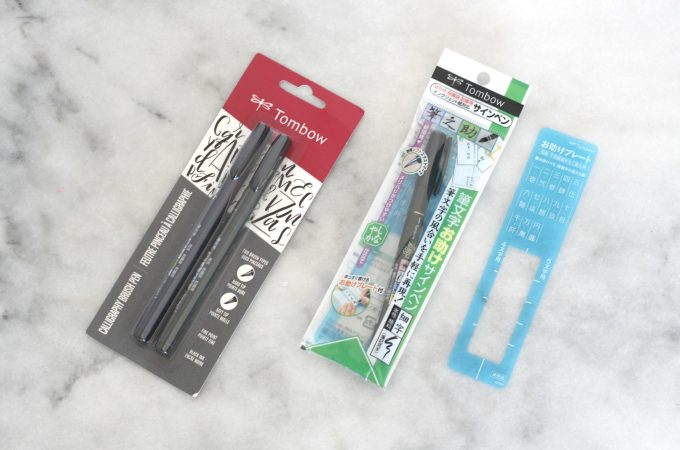 Tombow Fudenosuke Brush Pens Review