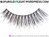 sparkleoflight makeup addiction false lashes parisian glam review