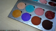 sparkleoflight makeup addiction flaming love palette shades eyeshadow pressed pigments
