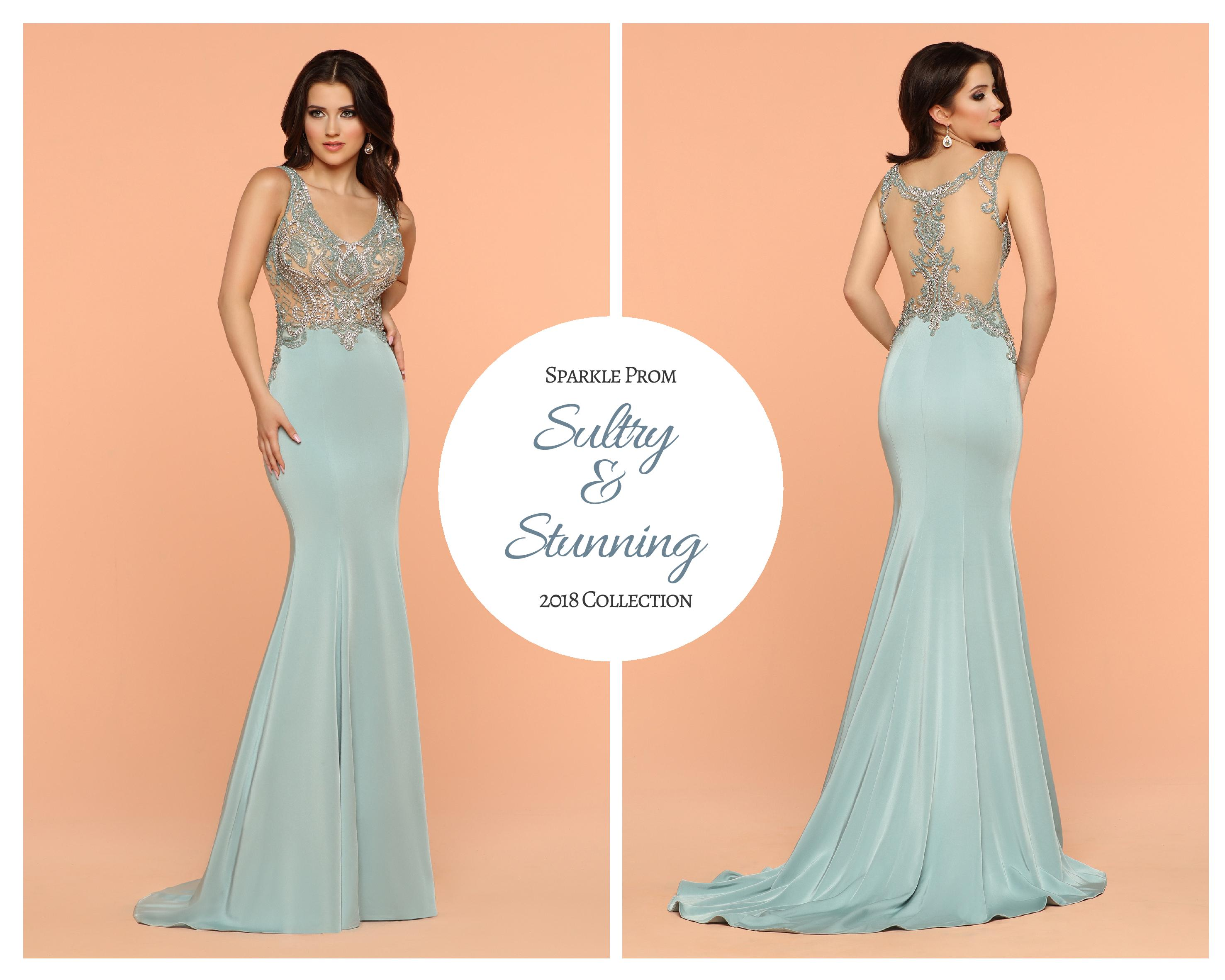 Sultry & Stunning: Jersey & Crepe Gowns for Prom 2018 - Sparkle Prom ...