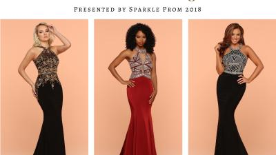 Silver & Gold Metallic Accent Pageant Gowns – Sparkle Prom 2018 Fashion Blog