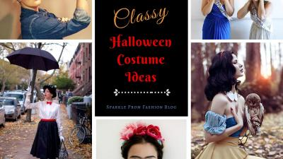 10 Classy Halloween Costume Ideas – Sparkle Prom Fashion Blog