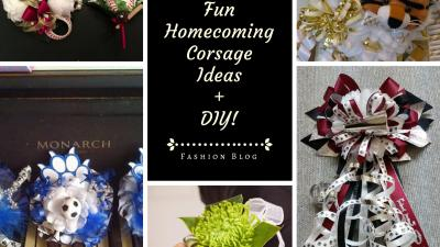 Fun Homecoming Corsage Ideas + DIY Tutorials – Sparkle Prom Fashion Blog