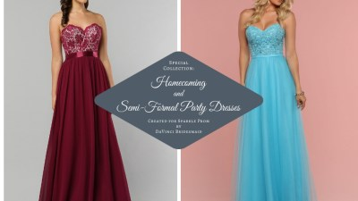 Homecoming, Long, Semi-Formal Party Dresses – Sparkle Prom Fashion Blog
