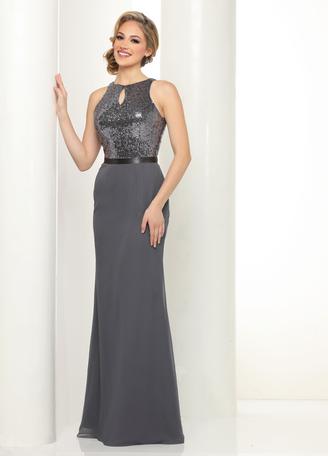 Sequin & Chiffon Holiday Party Dresses & Gowns – Sparkle Prom ...