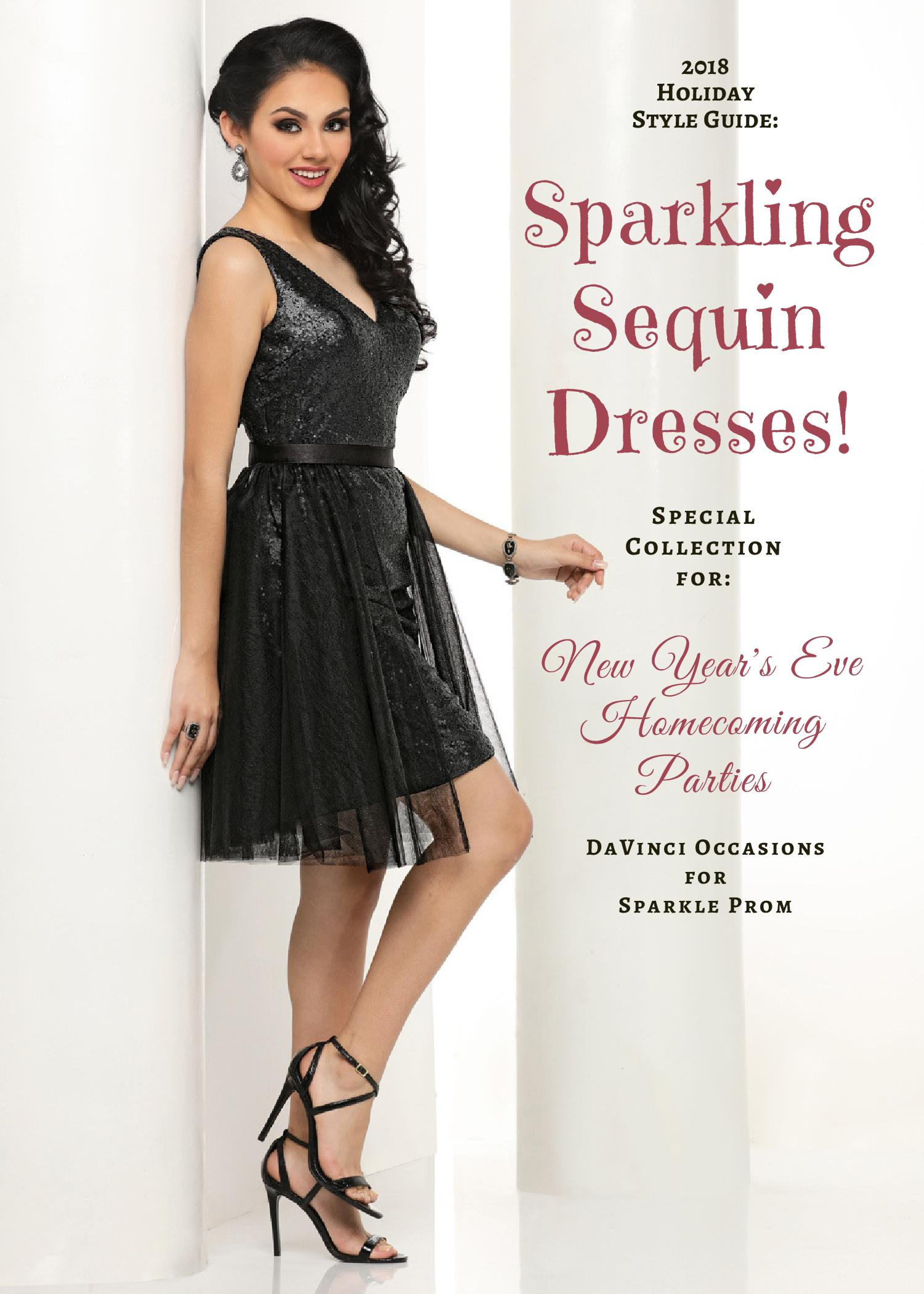 Sparkling Sequin Dress Collection: NYE, Homecoming & Parties – Sparkle Prom Fashion Blog