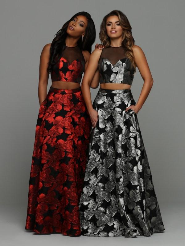 8e2b7e37d28 Prom Dress Fabric Guide  2019 Bold Pattern Prom Dresses – Sparkle ...