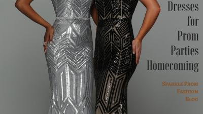 Prom Dress Fabric Guide 2019 Patterned Sequin Prom Dresses – Sparkle Prom Blog