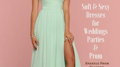 Slit Maxi Dresses for Weddings, Parties & Prom 2019 – Sparkle Prom Fashion Blog