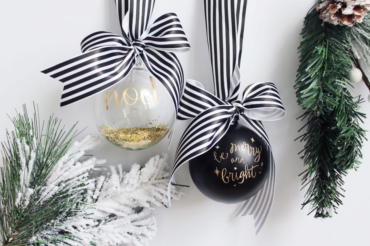 Creating Easy Christmas Ornaments With Cricut